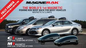 MAGNERAK - The World's 1st Magnetic Fishing Rod Roof Rack By ZEE ... Toyota Tacoma Bed Rack Fishing Rod Truck Rail Holder Pick Up Toolbox Mount Youtube Topper Utility Welding New Giveaway Portarod The Ultimate Home Made Rod Rack For The Truck Bed Stripersurf Forums Fishing Poles Storage Ideas 279224d1351994589rodstorageideas 9 Rods Full Size Model Plattinum Diy Suv Alluring Storage 5 Chainsaw L Dogtrainerslistorg Titan Vault Install Fly Fish Food Tying And