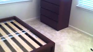 Ikea Brusali Wardrobe Instructions by Ikea Bedroom Furniture Assembly Service Video In Rockville Md By