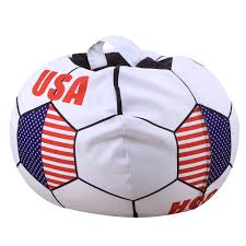 US $12.23 21% OFF|Football Shape Bag Stuffed Animal Storage Bean Bag Chair  Kids Clothes USA France Soccer Cup Toy Organizer Gift-in Soccers From ... Welcome To Beanbagmart Home Bean Bag Mart Biggest Chair In The World Minimalist Interior Design Us 249 30 Offfootball Inflatable Sofa Air Soccer Football Self Portable Outdoor Garden Living Room Fniture Cornerin Soccers Fun Comfortable Sit And Relaxing Awb Comfybean Shape Bags Size Xxl Filled With Beans Filler Ccc Black Orange Buy Lazy Dude Store In Dhaka Bangladesh How Do I Select The Size Of A Bean Bag Much Beans Are Shop Regal In House Velvet 7 Kg Online Faux Leather