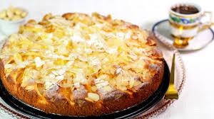 pfirsich marzipan kuchen fruchtig und lecker