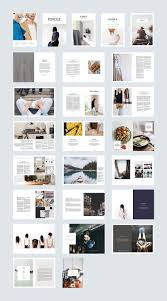 100 Magazine Design Inspiration Kindle By Ally Co On Creativemarket Brochure