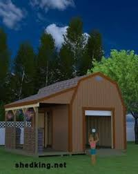 12x16 Storage Shed Plans by Build This Awesome 12x16 Barn Style Shed That Has A Ton Of Room To