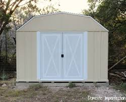 Sears Metal Shed Instructions by How To Paint A Rusty Metal Shed Domestic Imperfection