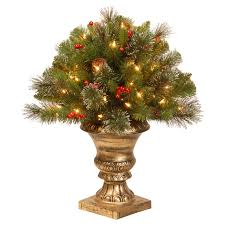 Prelit Christmas Tree That Puts Itself by 2 Ft Crestwood Spruce Pre Lit Battery Operated Led Christmas Tree