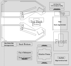 Bartop Arcade Cabinet Plans Pdf by Arcade Cabinet Project Pdf Centerfordemocracy Org