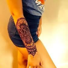 Girly Forearm Tattoo Idea