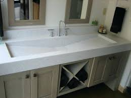 Trough Sink With Two Faucets by Vanities Trough Bathroom Sink And Vanity Country Style Master