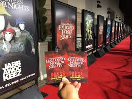Halloween Horror Nights Frequent Fear Pass 2016 by Socal Attractions 360 U2013 Universal Studios Hollywood Halloween