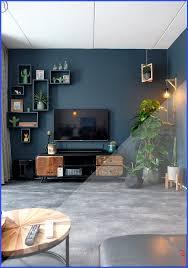 industrie tv schrank und viele pflanzen unser wohnzimmer