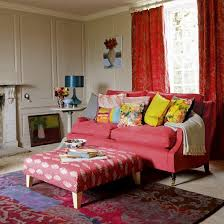 Red Living Room Ideas Uk by Red And Cream Curtains For Living Room Decorate The House With
