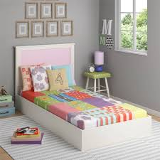 Kids Furniture Walmart Girl Bedroom Frozen Room Decor Colorful Bed With Grey Wall