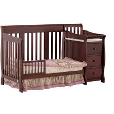 Jcpenney Crib Bedding by Baby Cribs Crib With Changing Table Amazon Nursery Furniture