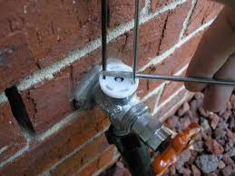 outdoor faucet leaking