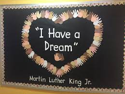 Mardi Gras Classroom Door Decoration Ideas by Martin Luther King Day Craft Bulletin Board