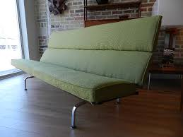Eames Compact Sofa Herman Miller by Zig Zag Charles Eames Sofa Sold