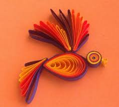 How To Create Such Amazing Paper Quilling Bird 2