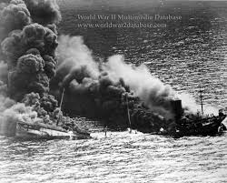 Pictures Of The Uss Maine Sinking by Ss Dixie Arrow Sinking After Torpedo Hits The World War Ii