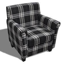 Sofa Chair Armchair Fabric Black Seat Cushion | VidaXL.com Tartan Armchair In Moodiesburn Glasgow Gumtree Queen Anne Style Chair In A Plum Fabric Wing Back Halifax Chairs Gliders Gus Modern Red Sherlock From Next Uk Fixer Upper Pink Rtan Armchair 28 Images A Seat On Maine Cottage Arm High Back Inverness Highland Beige Bloggertesinfo Antique Victorian Sold Armchairs Recliner Ikea William Moss Fireside Delivery Vintage Polish Beech By Hanna Lis For Bystrzyckie Fabryki Armchairs 20 Best Living Room Highland Style