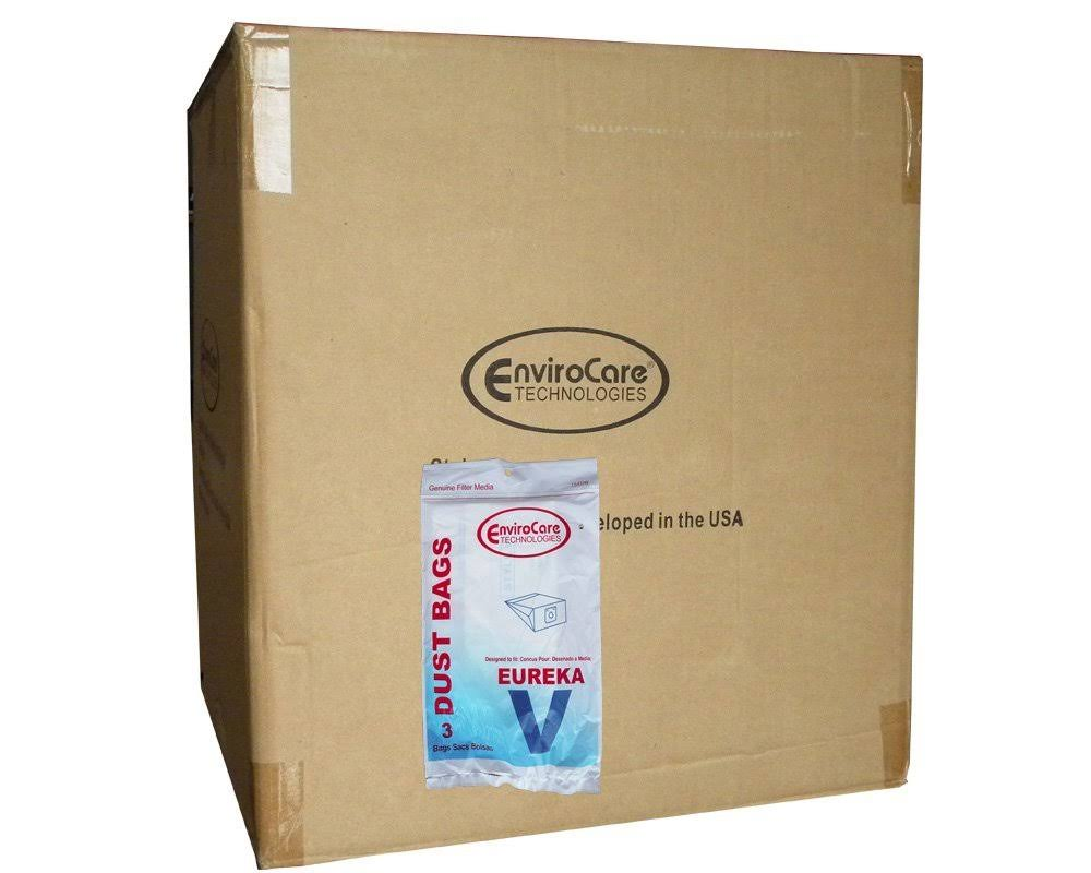 24 Eureka Style V Vacuum Bags, Power Team, Powerline, Canisters, World VAC, Home Cleaning System Vacuum Cleaners, 3