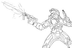 20 Halo 3 Coloring Pages To Print