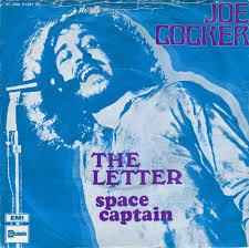 45cat Joe Cocker The Letter Space Captain Stateside