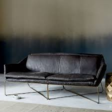 West Elm Paidge Sofa Grand by Leather Sofa West Elm