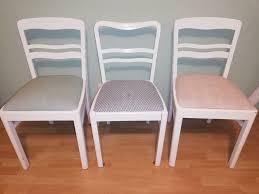 stühle stuhl esszimmer küche vintage shabby chic federkern