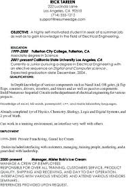 Sample Computer Science Resume Example