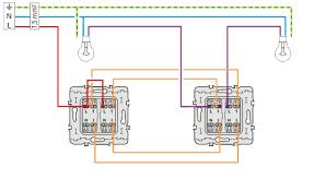 le va et vient schema electrique câblage electrique du va et vient