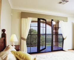 Modern Valances For Living Room by Furniture Bedroom Window Treatment With White Curtain And Brown