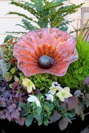 Cohn Glass Blown Pumpkins by 78 Best Glass In The Garden Images On Pinterest Glass Garden