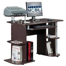 Techni Mobili Computer Desk With Side Cabinet by Techni Mobili Computer Desk U0026 Reviews Wayfair
