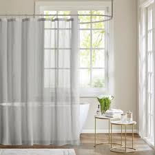Gray Sheer Curtains Bed Bath And Beyond by Buy Sheer Shower Curtains From Bed Bath U0026 Beyond