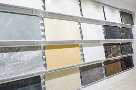 Colorful Samples Of A Stone Tile In Store Marble And Granite Flooring Most Popular