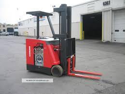 100 Raymond Lift Trucks 2007 Forklift Dockstockerpacer 3000 227 Very Clean
