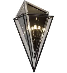 troy lighting b5321 epic forged iron 2 light wall sconce