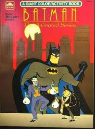 Batman The Animated Series Coloring Book