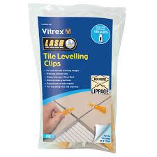 Leveling Spacers For Tile by Vitrex Lashcl100 Vitrex Lash Tile Levelling System 100 Clips