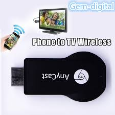 HDMI dongle WIFIdisplay receiver DLNA airplay miracast support ios and android cell phone connect Phone to