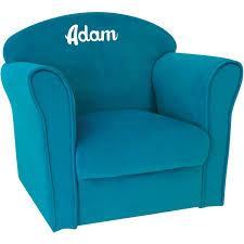 canape enfant fauteuil enfant personnalisé luxe bleu