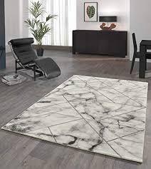 onloom wohnzimmerteppich craft stein optik teppich mit 3d effekt fürs wohnzimmer oder flur farbe geometrisch grau größe 160 x 230 cm