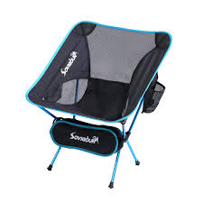 SOVIGOUR Folding Camping Chair, Outdoor Portable Camping Chair, Lightweight  Backpacking Chair, Heavy Duty Compact Camp Chair For Hiking Picnic ...
