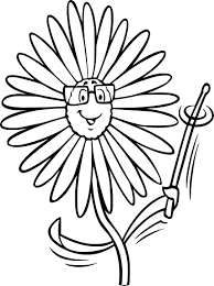 Tournesol Dans Le Style De Doodle Coloriage Tournesol Design Pour La Méditation Pour Les Adultes Illustration Vectorielle Isolé Sur Fond