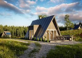 100 Modern Wooden House Design Hot Item AFrame With Building Materials Prefab Wood