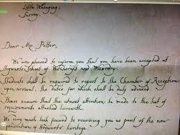 it s not like it s rocket surgery Hogwarts Acceptance Letter