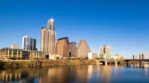 100 Austin City View AUSTIN 13 FEB Dolly Right Timelapse View Of The