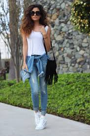 Denim Style Trends Fashion Outfit Ideas Affordable Finds Converse