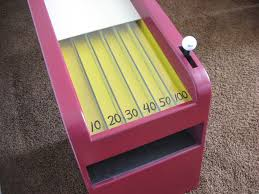 Picture Of Homemade Skeeball Game