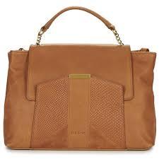nat et nin chiara marron sacs à porté épaule femme nat et