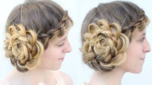 Vintage Inspired Braided Hat Hairstyle